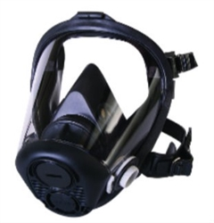 North Full Face Respirator, Large, 5 Pt. Headstrap, RU65001L