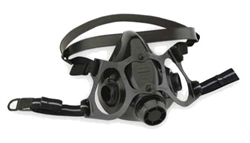North 7700 Series Half Face Respirator, Large