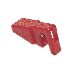 North Circuit Breaker Lockout, Single Pole, Red