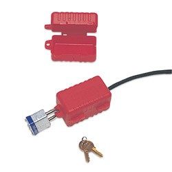 North Electrical Plug Lockout LP110
