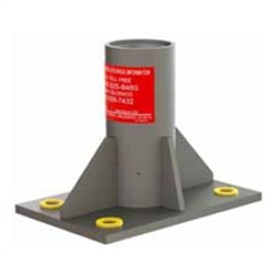 Pelsue Floor Mounted Center Base Sleeve, DSP-F2