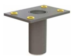 Pelsue Flush Floor Mounted Sleeve, DSP-F3