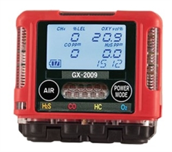 RKI Portable Gas Detector - Custom Build Gas Detector,  GX-2009