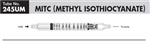 Sensidyne Methyl Isothiocyanate Gas Tube 10-1500 ppm 245UM