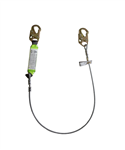 SafeWaze Energy Absorbing Cable Lanyard FS560-CA