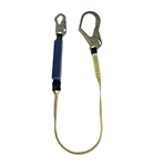 SafeWaze V-Line 6' Shock Absorbing Lanyard with Rebar Hook, FS88565-E