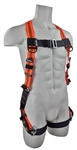 SafeWaze V-Line Harness, Back D-Ring, TB Leg Straps, Universal Sizing