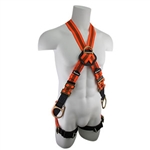 SafeWaze 4 D-Ring Cross Body Harness FS99281-EFD-X