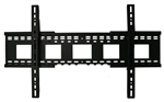 Samsung UN85HU8550F 85in TV wall mounting bracket under two inch depth from wall, capacity 250 lbs, VESA ready