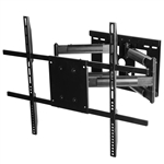 Samsung UN55RU7300FXZA 55 Inch RU7300 Class TV wall mount 31 Inch Extension left right swivel dual stud mounting adjustable 15 degree tilt
