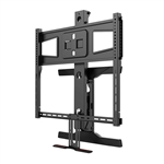 Above Fireplace Pull Down TV Wall Mount with Tilt/Swivel