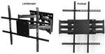 VIZIO E70-E3 Rotating TV wall bracket - All Star Mounts ASM-501L