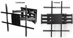 Vizio E65u-D3 Rotating TV wall bracket