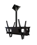 Dual Back to Back Flat Screen TV Ceiling Mount