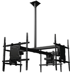 Quad Ceiling Mount for Sony XBR-65X950B Crimson CQUAD65