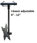 I-Beam Clamp TV ceiling bracket