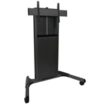 X-Large Manual Height Adjustable Mobile AV Cart