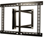 39 inch extension Double Arm Swivel TV Bracket