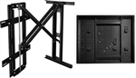 Samsung UN65LS003AFXZA The Frame 65 inch TVs - recessed unwell mounting kit hides Samsung one connect box, conceals cables, mounts flush to the wall