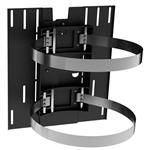 "24"" Diameter Column Wrap Clamp TV mounting bracket System"