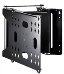 Motorized 90 degree swivel TV wall bracket with its smooth quiet mechanism that which you can input preset positions