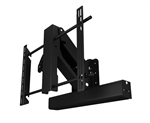 LG 65EG9600 Electric Fireplace Swing Down Wall Mount -Future Automation EAD