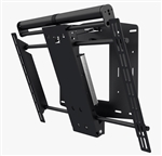 Motorized 90 degree swivel Tv bracket quiet mechanism preset positions precision made to last