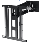 Motorized Drop Down Fireplace Wall Bracket 50 to 86 inch TVs lowers 14.9 inches - 132lb capacity smooth quiet operation