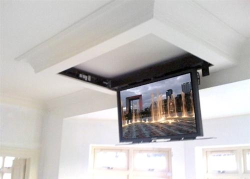 Motorized Flip Down Ceiling Bracket For Lg 65uh8500