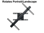 Sharp LC-80LE632U Wall Mount Rotates 90 Degree Portrait/Landscape - Premier RFM