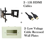TV wall mount 26in extension