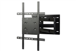 TV wall mount fit s 26in to 52in displays with Portrait landscape 90 degree Rotation 26in extension with 180 degree swivel left right 15 degree adjustable tilt