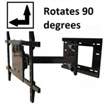Sony XBR-55X850D Articulating Wall Mount rotates 90 deg portrait-landscape