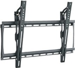 Super flush tilting TV wall mount designed for 23in to 46in. LED, LCD and Plasma HDTVs. 1.5 inch depth from wall, metal stud mounting bolt kit included