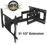 Dual-Arm Articulating Wall Mount