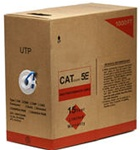 Cat5e UTP Solid 1000FT Bulk Cable