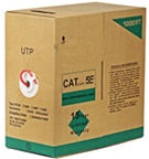 Cat5e UTP Stranded 1000FT Bulk Cable
