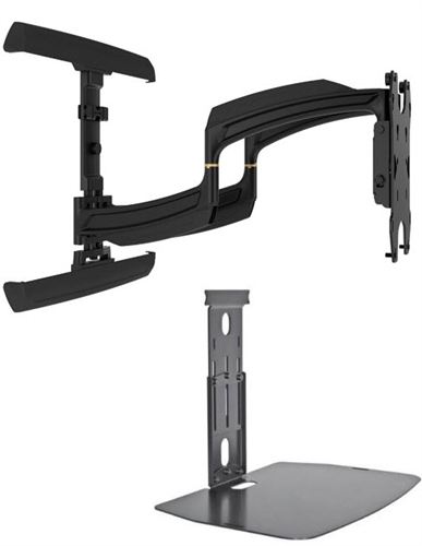 chief ts525tu ultra thin full motion tv wall mount wallmountworld. Black Bedroom Furniture Sets. Home Design Ideas