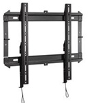 Low profile flat wall mount for 32in to 52in flat panel displays less then one inch from wall