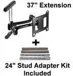 37 Inch Extension Dual arm Tv mount