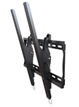 "Samsung UD55C 55"" Commercial Display - Crimson TP63A Digital Signage Tilting TV Wall Bracket"