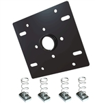 Dual unistrut ceiling adapter with hardware