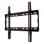 Universal Flat TV Wall Mount Bracket fits 26 inch to 46 inch displays 1.2 inch depth from wall