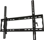 Tilting TV wall mount bracket fits 32in to 55in flat panels. Universal mounting pattern, adjustable tilt and 2.2 inch depth from wall