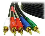 6FT 5-RCA Component Video/Audio Coaxial Cable (RG-59/U)