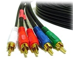 12FT 5-RCA Component Video/Audio Coaxial Cable (RG-59/U)