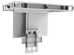 Motorized Drop Down Ceiling TV Bracket, for 46in to 65in displays 95 degree swing down and lowers 24 inches with 100lb capacity