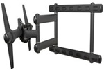 "Full Motion TV Wall Mount fits 40"" to 95"" flat panels"