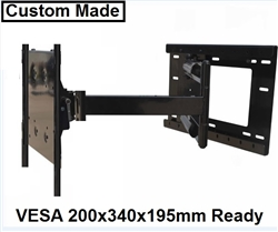 LG 55EG9200 Articulating TV Mount with 40 inch extension swivels left right 180 degrees