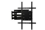 40in Extension Portrait- Landscape Rotating TV wall Mount with 180 deg swivel, 15 deg tilt VESA compatible - dual stud mounting